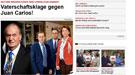 Demanda de paternidad contra el Rey Juan Carlos y su ¿verdadero? primogénito