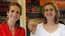 Las Infantas Cristina y Elena, apartadas de su familia incluso en el Museo de Cera