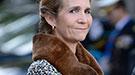 La Infanta Elena, en la lista de morosos por deber 510 euros a Hacienda