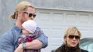 Miley Cyrus y Elsa Pataky, de vacaciones en familia
