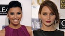 Jennifer Lawrence y Jessica Chastain: rojo y nude para los labios