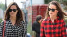 Pippa Middleton marca tendencia: la camisa de cuadros