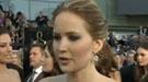 Entrevista con Jennifer Lawrence y la alfombra roja de los Oscar 2013