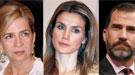 Letizia y el Príncipe Felipe vs la Infanta Cristina: crónica de una relación rota
