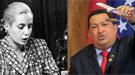 Hugo Chávez y Eva Perón: iconos embalsamados de Venezuela y Argentina
