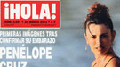 Primera foto de Penélope Cruz embarazada: la barriguita en bikini