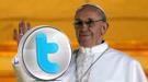 Bienvenida al nuevo Papa en Twitter: los famosos quieren a Francisco I
