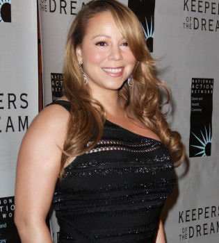 Mariah Carey, sospechoso aumento de peso