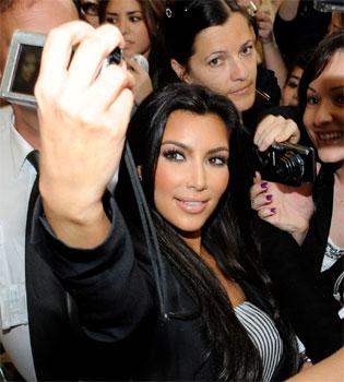 Kim Kardashian agredida por su ex marido