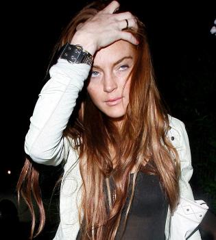 Lindsay Lohan, despedida de su última película