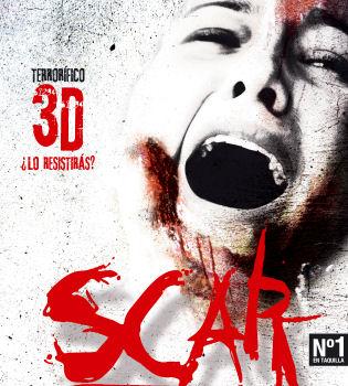 Llega 'Scar 3D', película de terror rodada en 3D