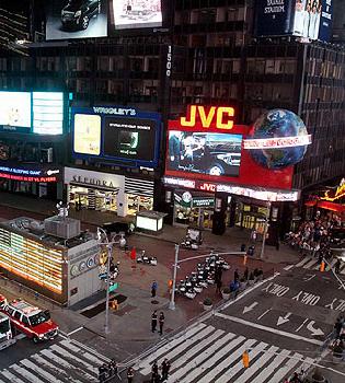 Un coche bomba obliga a desalojar Times Square