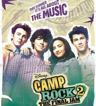 Fechas de estreno de 'Camp Rock 2' con los Jonas Brothers y Demi Lovato