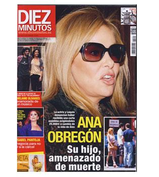 El hijo de Ana Obregón y el Conde Lequio, amenazado de muerte