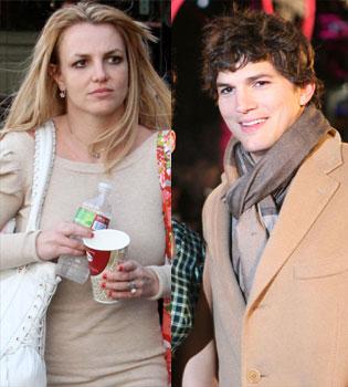 Britney Spears y Ashton Kutcher son los reyes de Twitter