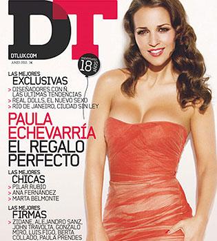 Paula Echevarría posa muy sexy en DT