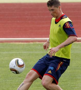 Fernando Torres se pone a punto para darlo todo en el Mundial