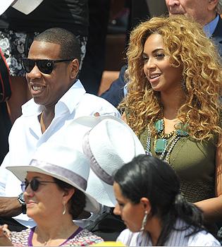 Beyoncé y Jay-Z asisten la victoria de Nadal en Roland Garros