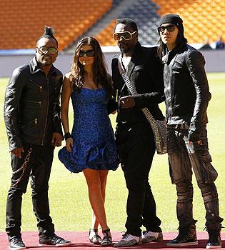 Black Eyed Peas cantará 'I Gotta Feeling' en la Apertura del Mundial 2010
