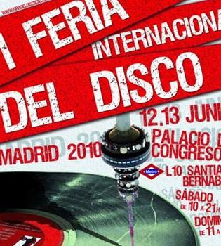 La Feria del Disco llega a Madrid