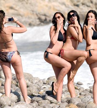Marbelys y su escapada de chicas a la playa
