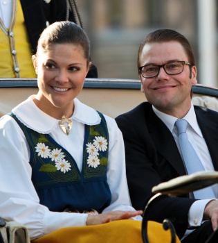 La princesa Victoria de Suecia se casa el sábado