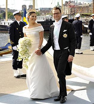 El diseño del vestido de novia de la Princesa Victoria de Suecia