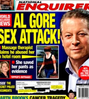 Una masajista acusa a Al Gore de abusos sexuales