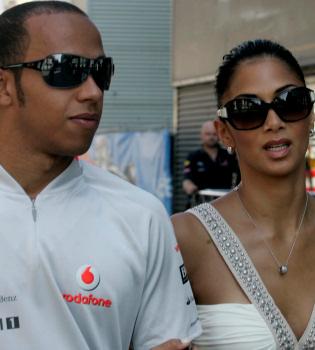 Lewis Hamilton y Nicole Scherzinger superan su crisis en Valencia