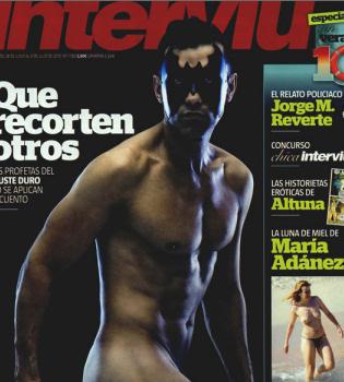 Jesús Vázquez cumple su promesa y posa desnudo en Interviú