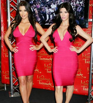 Kim Kardashian ya tiene su réplica en cera