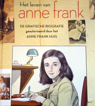El diario de Ana Frank se convierte en cómic
