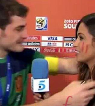 Sara Carbonero habla de la promesa de Casillas: