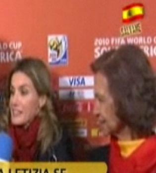 Tensa relación de Letizia y la reina Sofía durante el Mundial
