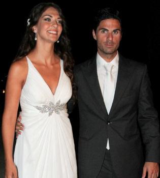 Lorena Bernal y Mikel Arteta celebran su boda en Mallorca