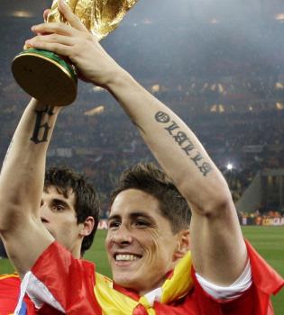 Fernando Torres espera su segundo hijo