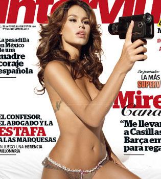 Mireia Canalda, desnuda en Interviú: