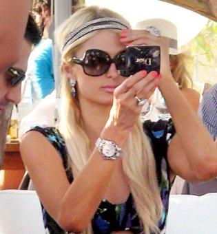 Paris Hilton de vacaciones en Ibiza