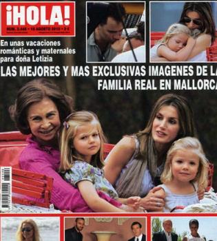 Los príncipes Felipe y Letizia, pillados por primera vez besándose en los labios