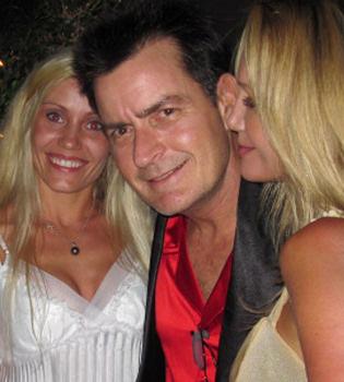 Charlie Sheen, su última juerga antes de la rehabilitación