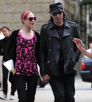 Marilyn Manson rompe con su novia Evan Rachel Wood