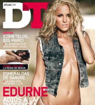 Edurne, más sexy que nunca para la revista DT