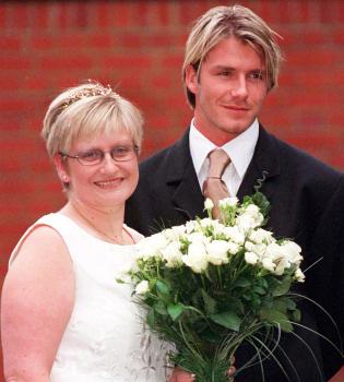 Una hermana de David Beckham vive al borde de la miseria