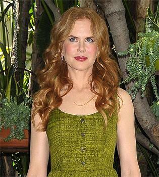 Nicole Kidman planta sus propias verduras entre alpacas
