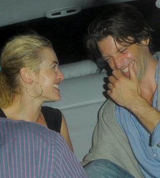 Kate Winslet, noche de fiesta loca con su nuevo novio, Louis Dowler