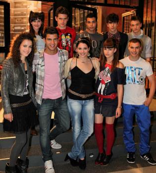 Estreno de la sexta temporada de 'Física o Química' con premiere en Madrid