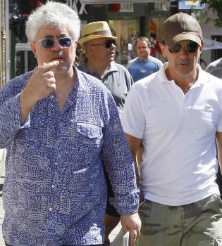 Almodóvar comienza el rodaje de 'La piel que habito', con Antonio Banderas
