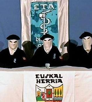 Los terroristas de ETA anuncian un alto el fuego en la BBC