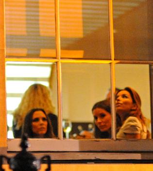 Eva Longoria y Victoria Beckham, cena íntima entre dos amigas