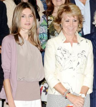 La princesa Letizia, con la moda española, inaugura la pasarela Cibeles